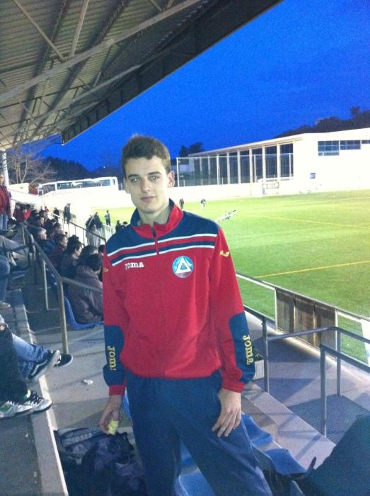 El autor del histórico gol del Tossa, Aleix Crous